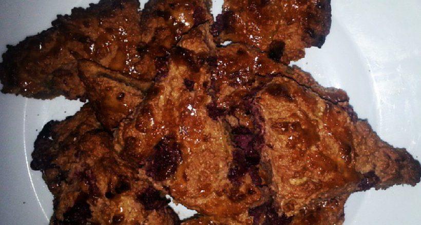 Frambozen scones suikervrij
