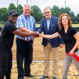 Officiële opening rekstokken in Maastricht